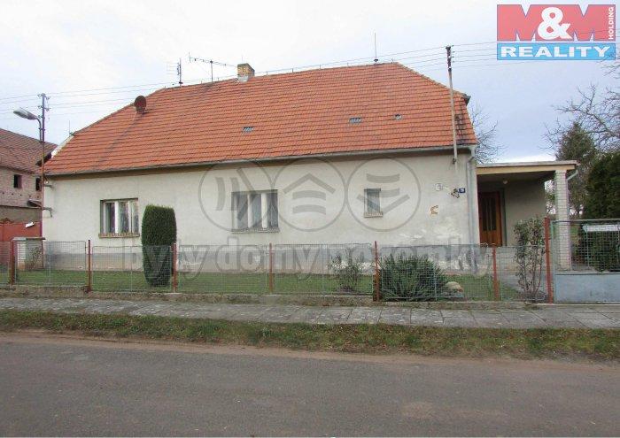 Prodej, Rodinný dům 3+1, 628 m2, Kolešov