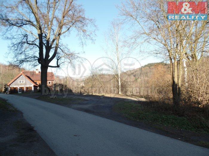 Prodej, stavební parcela, 1754 m2, Andělská Hora, Chrastava