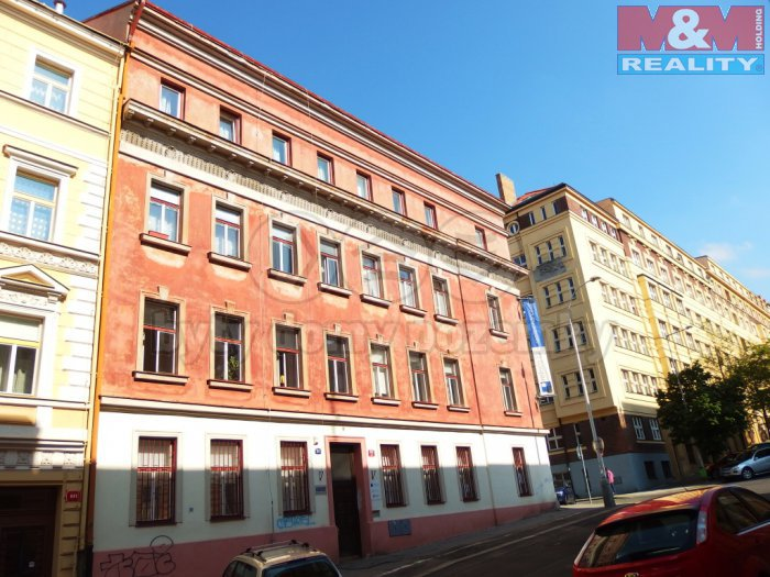 Pronájem, kanceláře, 184 m2, Praha 3, ul. Baranova