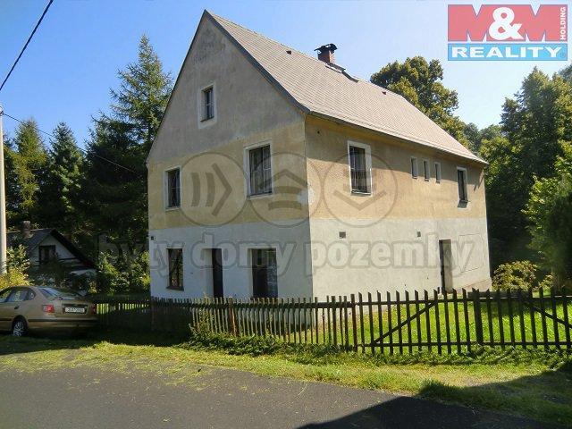 Prodej, rodinný dům 4+1, OV, 760 m2, Valkeřice