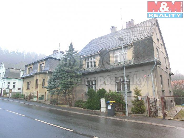 Prodej, rodinný dům, 6+2, Litvínov, ul. Mezibořská