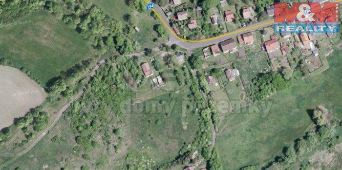 Prodej, pozemek, 845 m2, Nová Ves u Podbořan, Nepomyšl