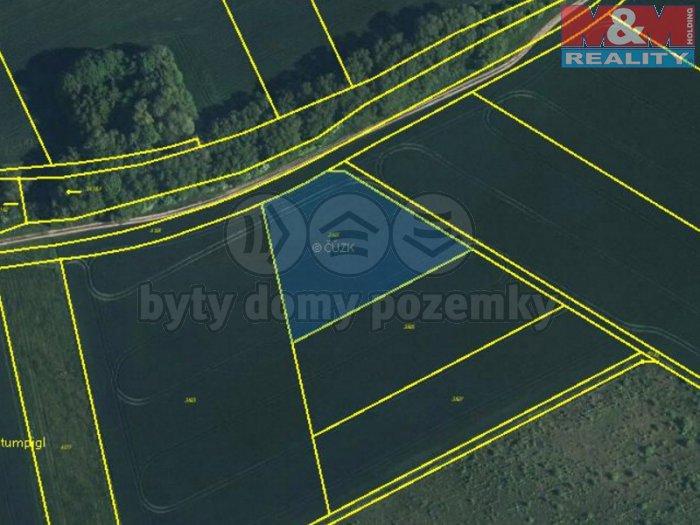 Prodej, pole, 4000 m2, Kozlany u Vyškova