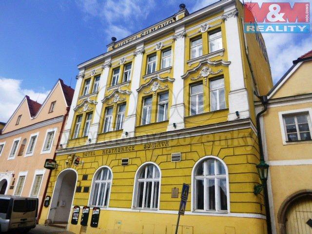 Prodej, hotel a dům 1384 m2, OV, Horšovský Týn