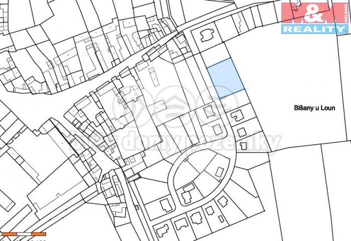 Prodej, pozemek, 1671 m2, Blšany u Loun