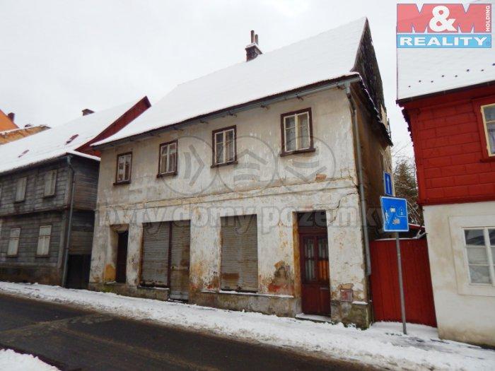 Prodej, rodinný dům 6+1, Česká Kamenice, ul. Dvořákova