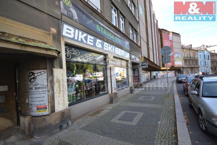 Pronájem, obchodní prostory, 71 m2, Liberec
