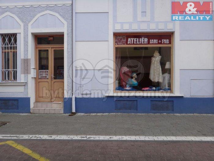 Pronájem, obchodní prostory, 40 m2, Kladno, ul. Žižkova