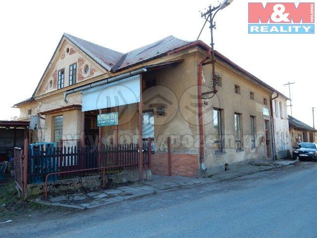 Prodej, komerční objekt, 1625 m2, Pustá Kamenice