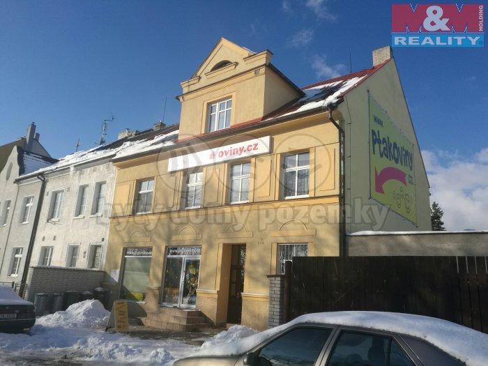 Pronájem, byt 1+1, 38 m2, OV, Chomutov, ul. V Álejích