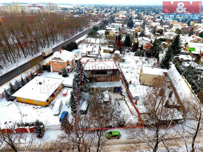 Prodej, stavební pozemek, 784 m2, Praha 9 - Újezd nad Lesy