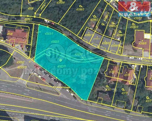 Prodej, stavební pozemek 2123 m2, Praha 5 - Smíchov