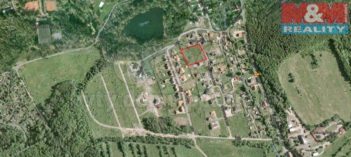 Prodej, stavební pozemek, 1682 m2, Lom u Mostu