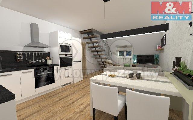 Prodej, mezonetový byt, OV, 108 m2, Liberec - Horní Růžodol