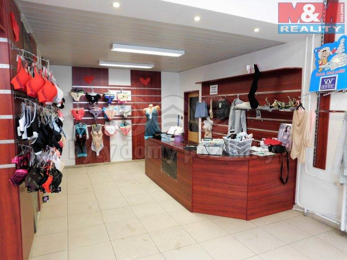 Pronájem, obchod, 40 m2, Kladno, ul. Váňova