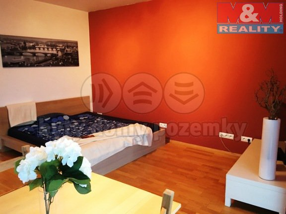 Prodej, byt 1+kk, 38 m2, OV, Praha 3 - Central Park