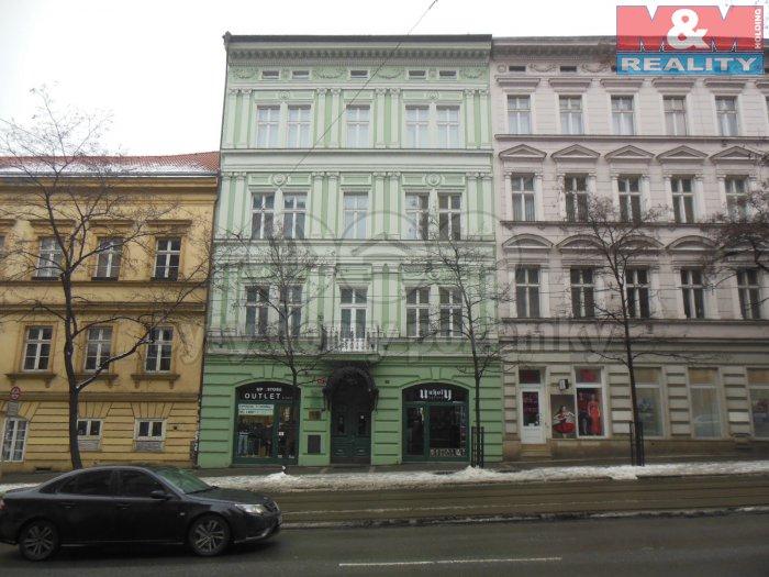Pronájem, obchodní prostory, 50 m2, Praha 2 - Nové Město