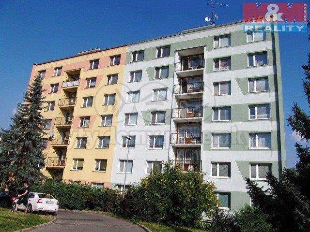 Pronájem, byt 1+1, 36 m2, OV, Děčín - Želenice, ul. Školní