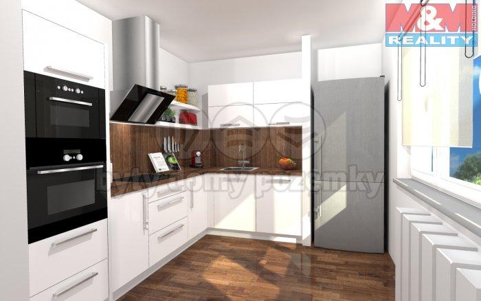 Prodej, byt 3+1, 70 m2, Mšené-lázně