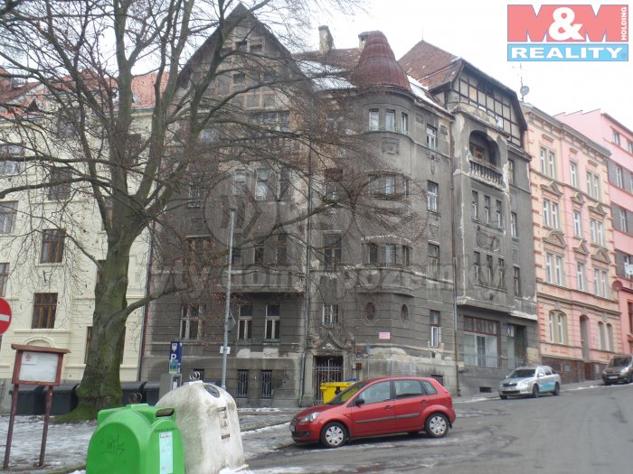 Pronájem, byt 2+kk, 55 m2, Děčín IV , ul. Máchovo nám.