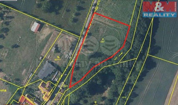 Prodej, pozemek, 3138 m2, Červené Pečky