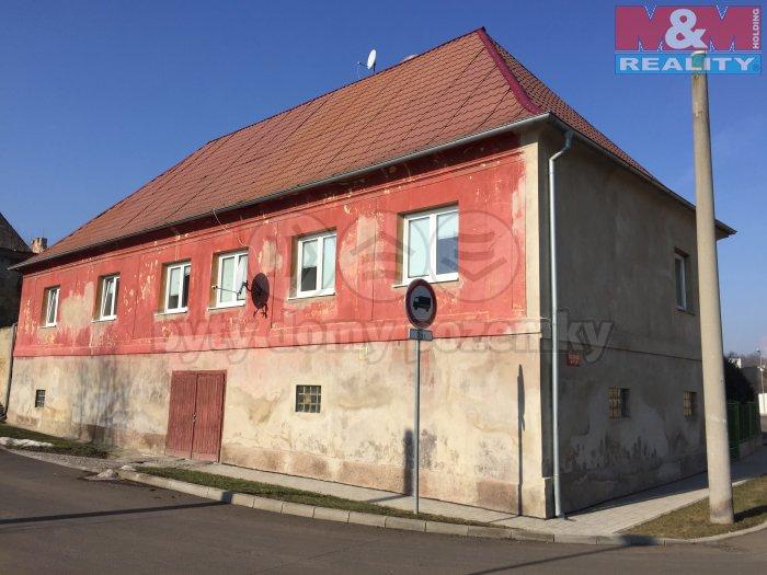 Prodej, rodinný dům 5+1, 1073 m2, Postoloprty, ul. Wolkerova