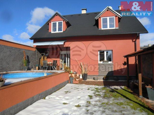 Prodej, rodinný dům 4+1, 190 m2, Otvice, ul. Nová
