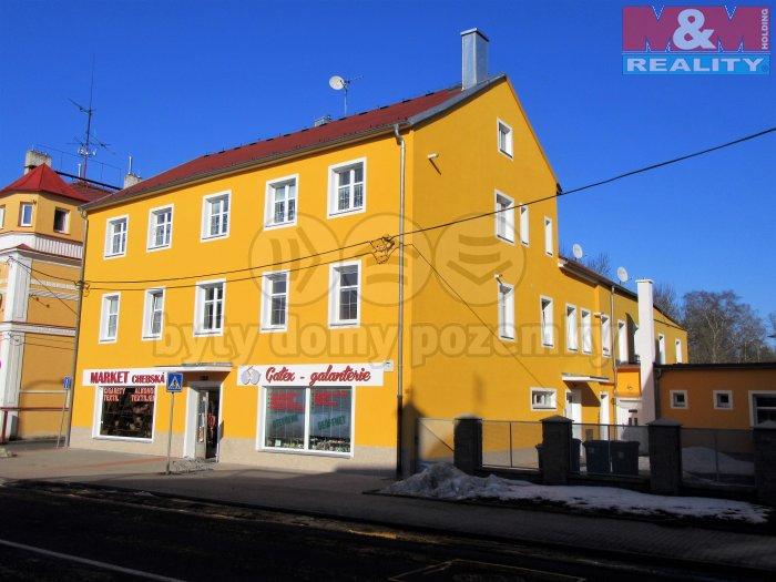 Pronájem, byt 2+1, 47 m2, Františkovy Lázně, ul. Chebská