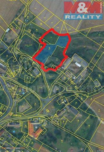 Prodej, stavební pozemek, 4 224 m2, Jištěrpy okr. Litoměřice