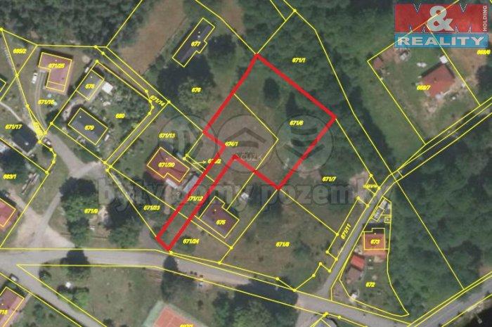 Prodej, stavební pozemek, 1850 m2, Ralsko - Hradčany