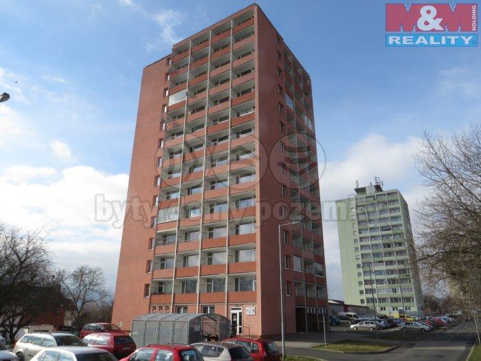 Pronájem, byt 1+kk, 22 m2, DV, Klášterec, ul. Budovatelská
