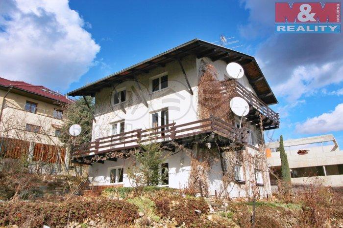 Prodej, rodinný dům, 300 m2, Praha 5 - Barrandov