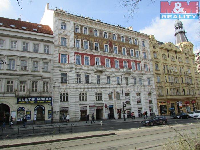 Pronájem, obchodní objekt 2+kk, Praha 2 - Karlovo náměstí