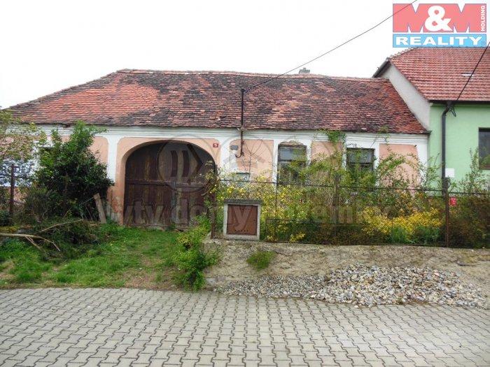 Prodej, rodinný dům 3+1, 120 m2, Zvěrkovice, okres Třebíč