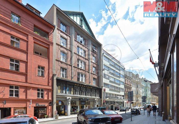 Pronájem, kancelářské prostory, 107 m2, Praha 1 - Nové Město