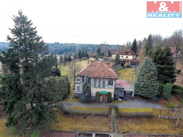 Prodej vila 5+1, 2905 m2, Voznice
