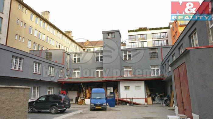 Podnájem, skladové prostory, 400 m2, Praha 7 - Holešovice