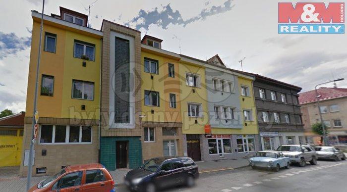 Pronájem, byt 1+1, 48m2, Louny ul. Husova