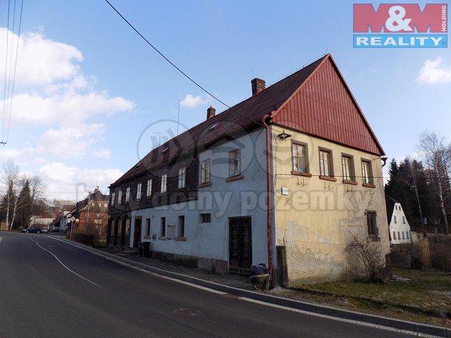 Prodej, rodinný dům, 1372 m2, Krásná Lípa