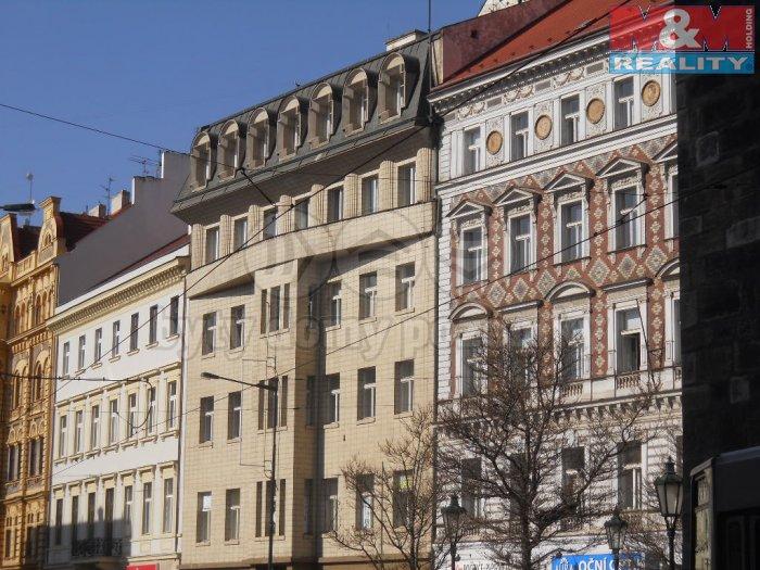 Podnájem, kancelářské prostory, 142 m2, Praha 1