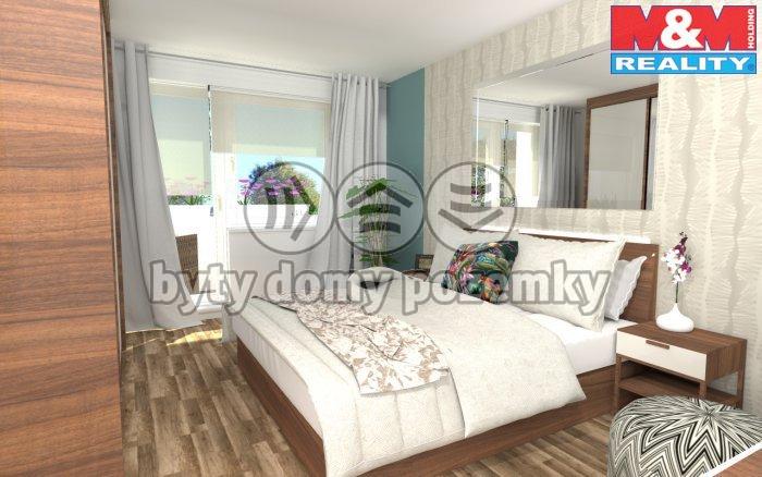 Prodej, byt 3+1, 84 m2, Karlovy Vary - Růžový Vrch
