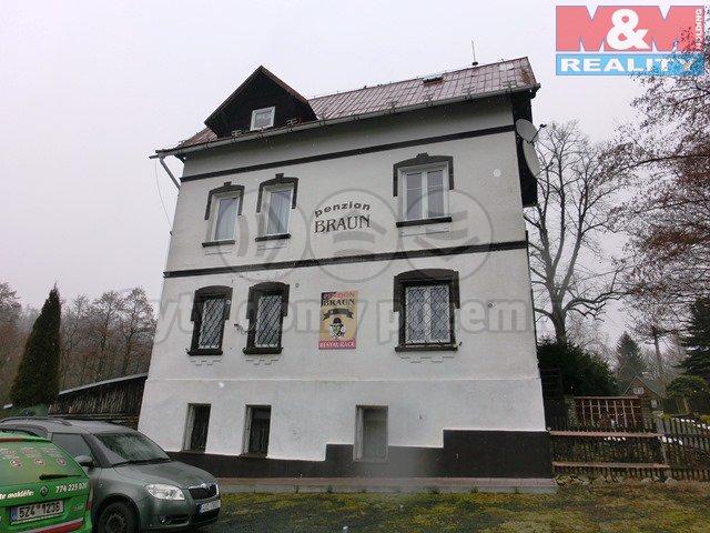Prodej, penzion, 5915 m2, Rybniště - Nová Chřibská