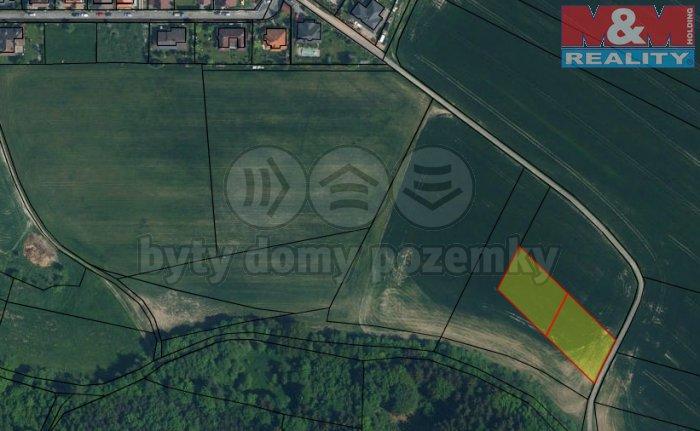 Prodej, stavební pozemek, 2396 m2, Červený Hrádek