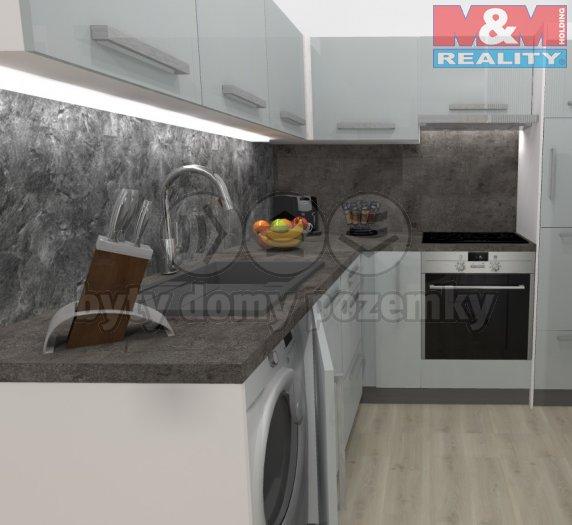 Prodej, byt 2kk, 53 m2, Praha 4 Nusle