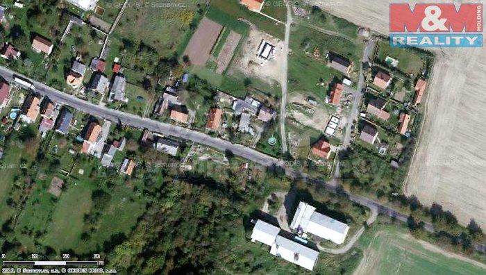 Prodej, stavební parcela,1029 m2, Chcebuz