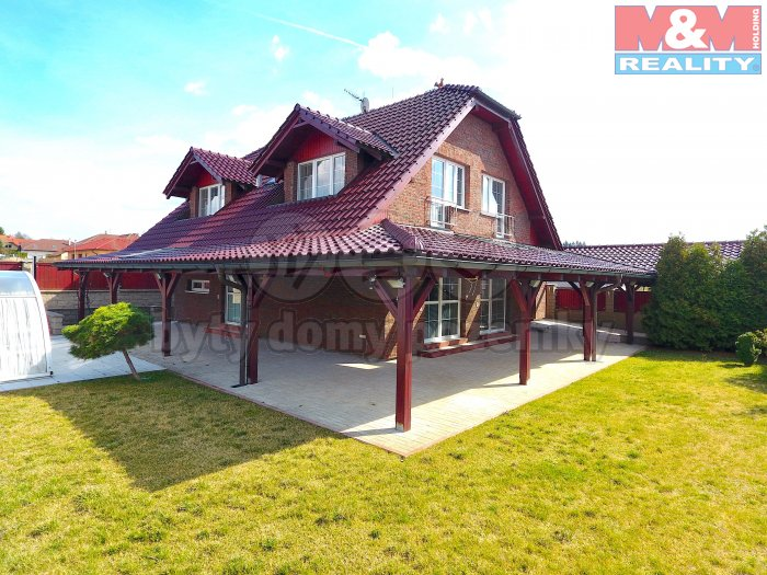Pronájem, rodinný dům 6+kk, 1013 m2, Psáry - Dolní Jirčany