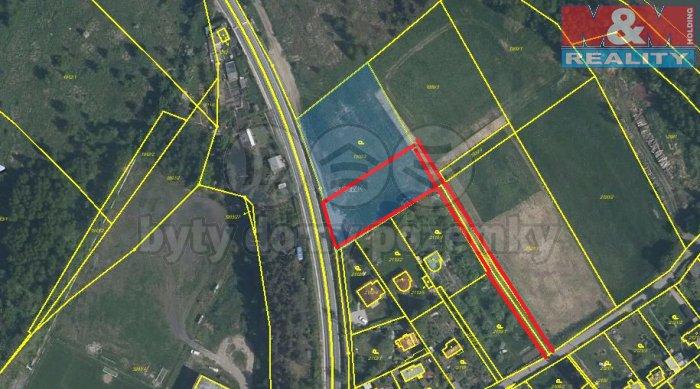 Prodej, pozemek, 1082 m2, Plzeň-Bolevec