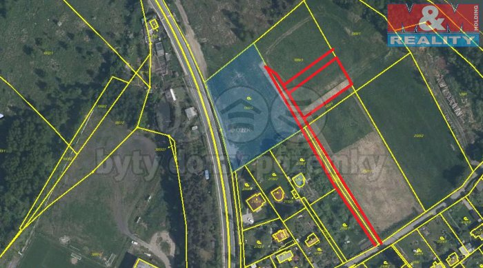 Prodej, pozemek, 942,10 m2, Plzeň-Bolevec
