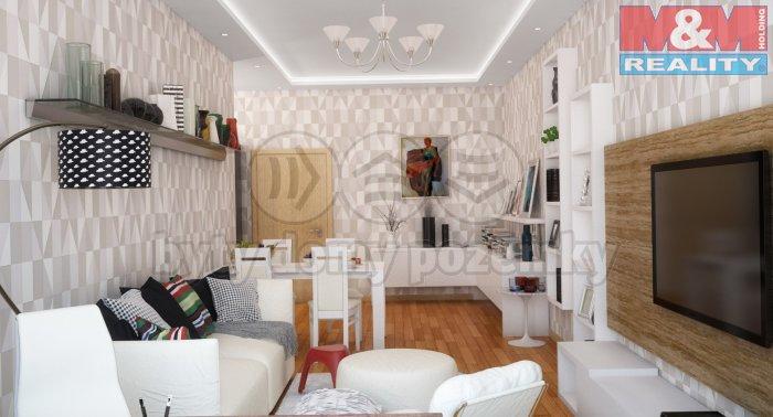 Prodej, byt 1+kk, 72 m2 Praha 10 - Strašnice