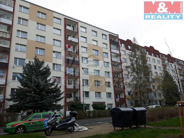 Pronájem, byt 1+1, 36 m2, Ústí nad Labem, ul. Maková
